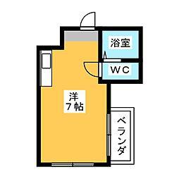 オラシオン人宿II[3階]の間取り
