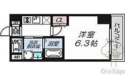 EC梅田北IIゼニス[7階]の間取り