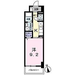ケヤキ グランデ[0104号室]の間取り