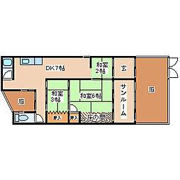 [一戸建] 兵庫県神戸市須磨区明神町1丁目 の賃貸【/】の間取り
