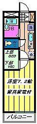 埼玉県さいたま市南区円正寺の賃貸マンションの間取り