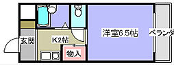 ソレイユ川崎[3階]の間取り