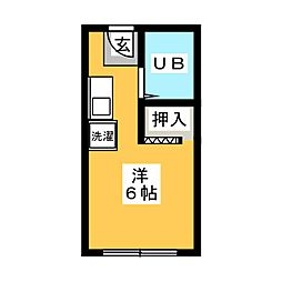 ロゼハウス[2階]の間取り