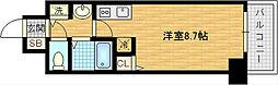 レジデンス福島II[3階]の間取り