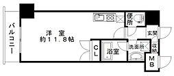 エスティメゾン南堀江[11階]の間取り