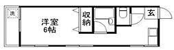 東京都板橋区小茂根4丁目の賃貸アパートの間取り