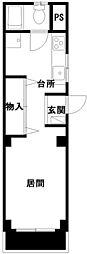 三浦マンション[201号室号室]の間取り