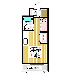 グランドール新生台[4階]の間取り