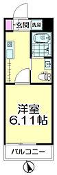 (仮称)青葉区台原共同住宅B棟[104号室]の間取り