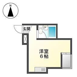 ALEGRIAPLACE徳川町[2階]の間取り