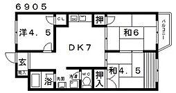 SAMURAIマンション(サムライマンション)[305号室号室]の間取り