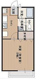 サンビレッジ武蔵野II[3階]の間取り
