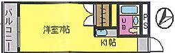 キングスフォーラム (ST)[306号室]の間取り