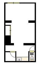 コーポ徳延I(事務所・店舗)[1階]の間取り