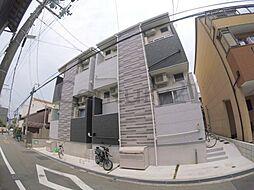 大阪府池田市上池田1丁目の賃貸アパートの外観
