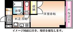 京橋森野ビル--[1102号室]の間取り