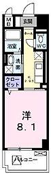クラール和光[2階]の間取り