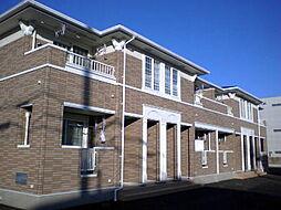 群馬県高崎市日高町の賃貸アパートの外観