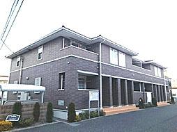 神奈川県伊勢原市高森の賃貸アパートの外観