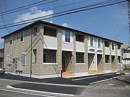 群馬県高崎市東貝沢町3の賃貸アパートの外観