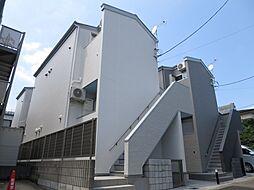 千葉県千葉市稲毛区天台5丁目の賃貸アパートの外観