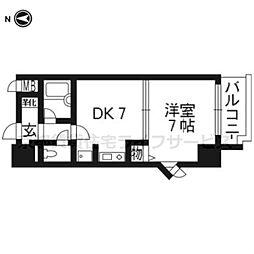 エスリード京都駅前501[5階]の間取り
