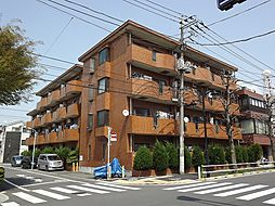 東京都板橋区高島平1丁目の賃貸マンションの外観