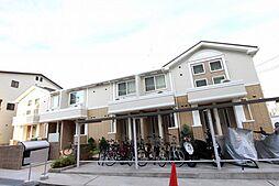大阪府茨木市蔵垣内2丁目の賃貸アパートの外観