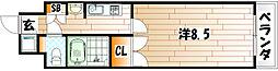 No.65 クロッシングタワー[7階]の間取り