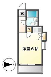 レンガ家ビル[3階]の間取り