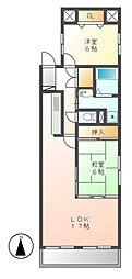 サンコーマンション2[2階]の間取り