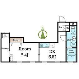 casa della felicita[3階]の間取り
