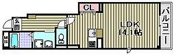 アジュール和泉中央1[1-103号室]の間取り