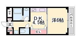 COZY7[4階]の間取り