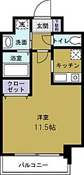コスモプレミアムベイ大阪[9階]の間取り