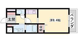 アビタシオン68[1階]の間取り