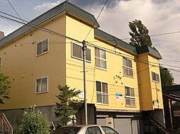 北海道小樽市長橋2丁目の賃貸アパートの外観