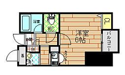 エステムプラザ梅田WEST[10階]の間取り
