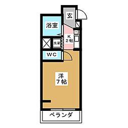 パールハイツカトウ[2階]の間取り