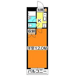 シードハウス[3階]の間取り