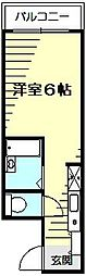 ヨコハマベイヒルズ[2階]の間取り