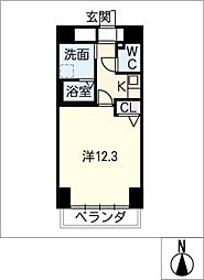 SUNVICC大曽根[4階]の間取り