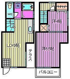 [テラスハウス] 埼玉県さいたま市浦和区前地1丁目 の賃貸【/】の間取り