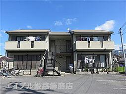 兵庫県姫路市飾磨区英賀春日町1丁目の賃貸アパートの外観
