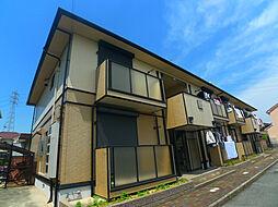 兵庫県加古郡稲美町国岡5丁目の賃貸アパートの外観
