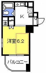 与野駅前プラザ[301号室号室]の間取り