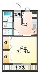 ING1[2階]の間取り