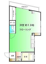 コーポ水澤[2階]の間取り