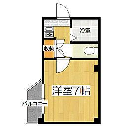 ラトゥール入江[303号室]の間取り