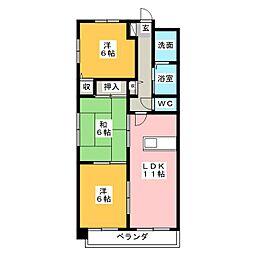 杉村ビル[3階]の間取り
